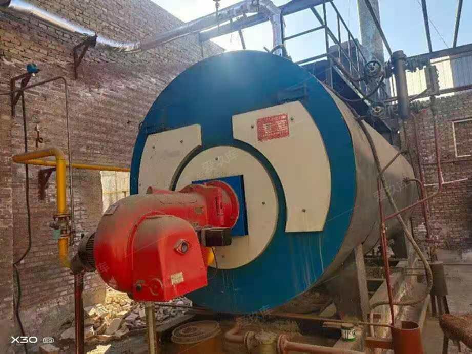 江蘇雙陽2017年6噸燃氣蒸汽鍋爐