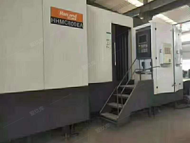 轉讓二手漢川HHMC800EA雙工位臥加二手臥加二手加工中心