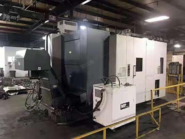 轉讓二手日本大畏MB-5000H臥式加工中心二手臥加二手加工中心