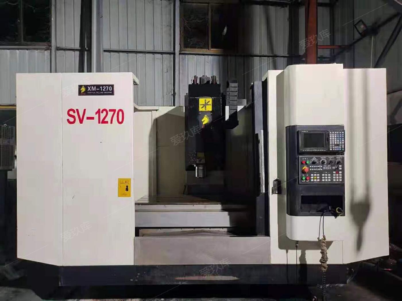 轉讓二手XM-1270數控銑床二手數控銑床