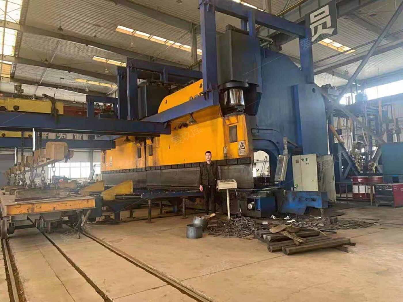 ACL力豐集團,全套3200噸14米折彎機