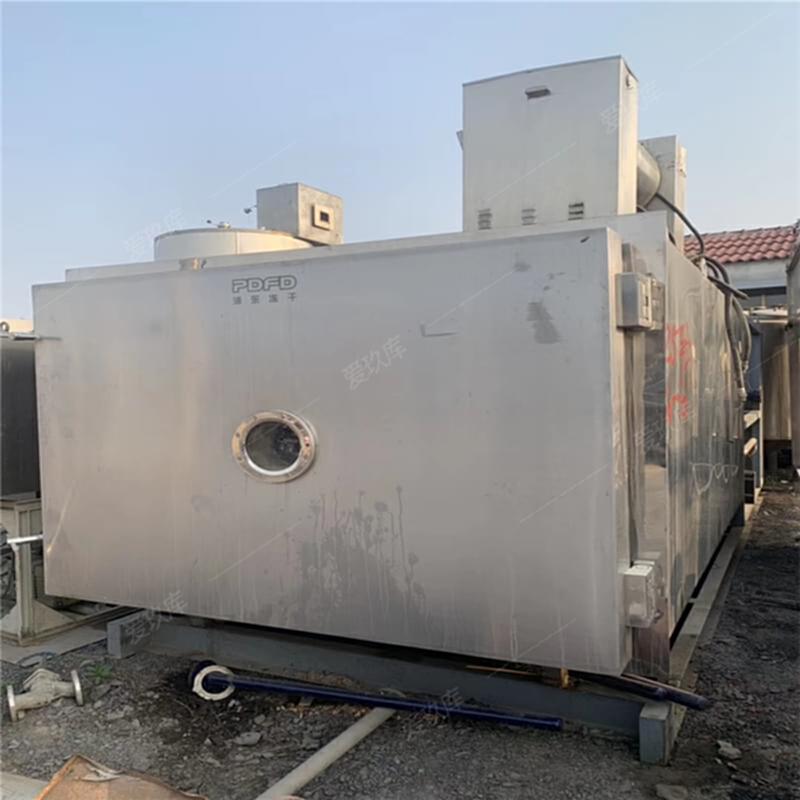 二手不銹鋼凍干機  5平方凍干機