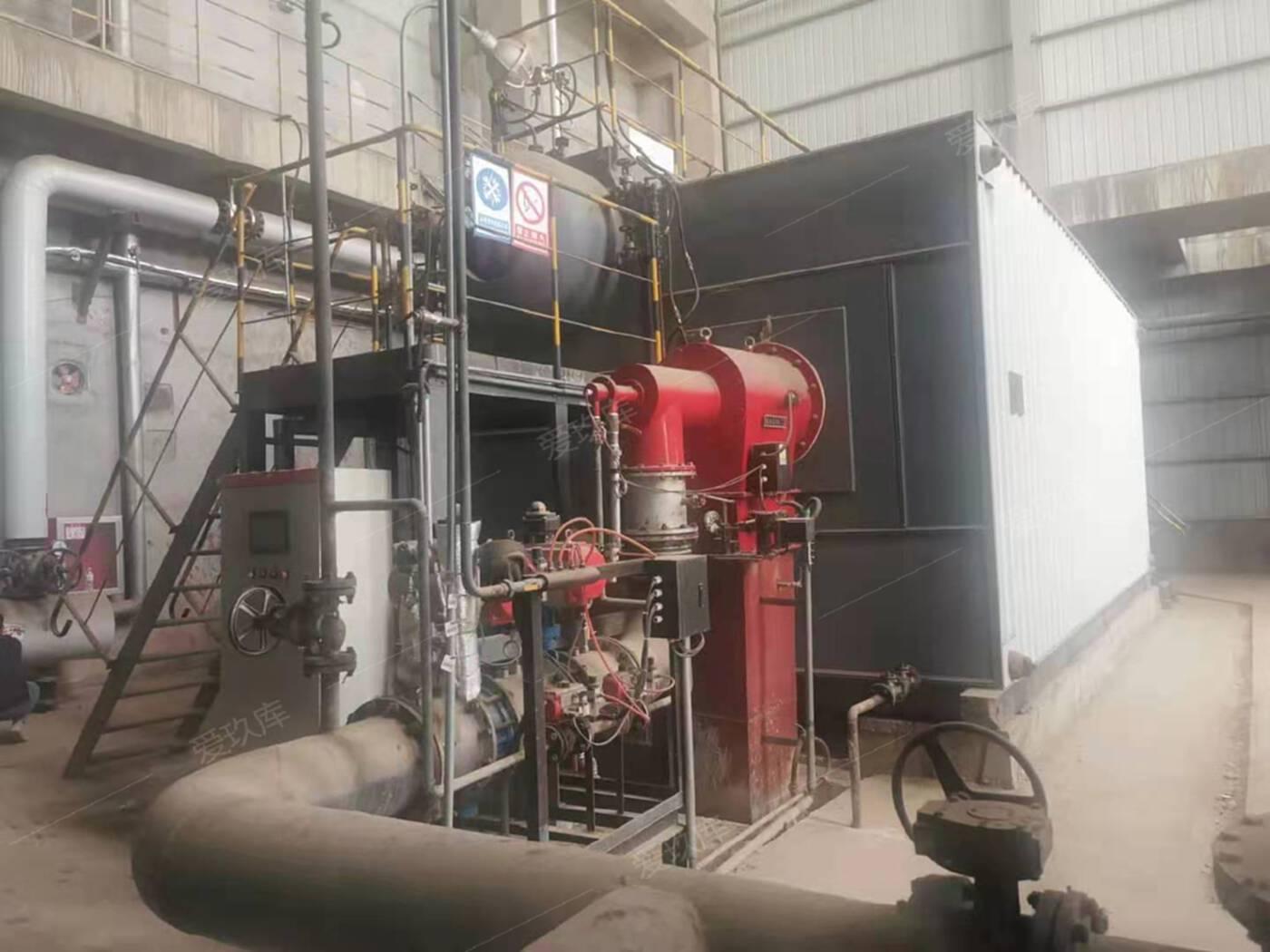 出售泰山20噸水管燃氣蒸汽鍋爐