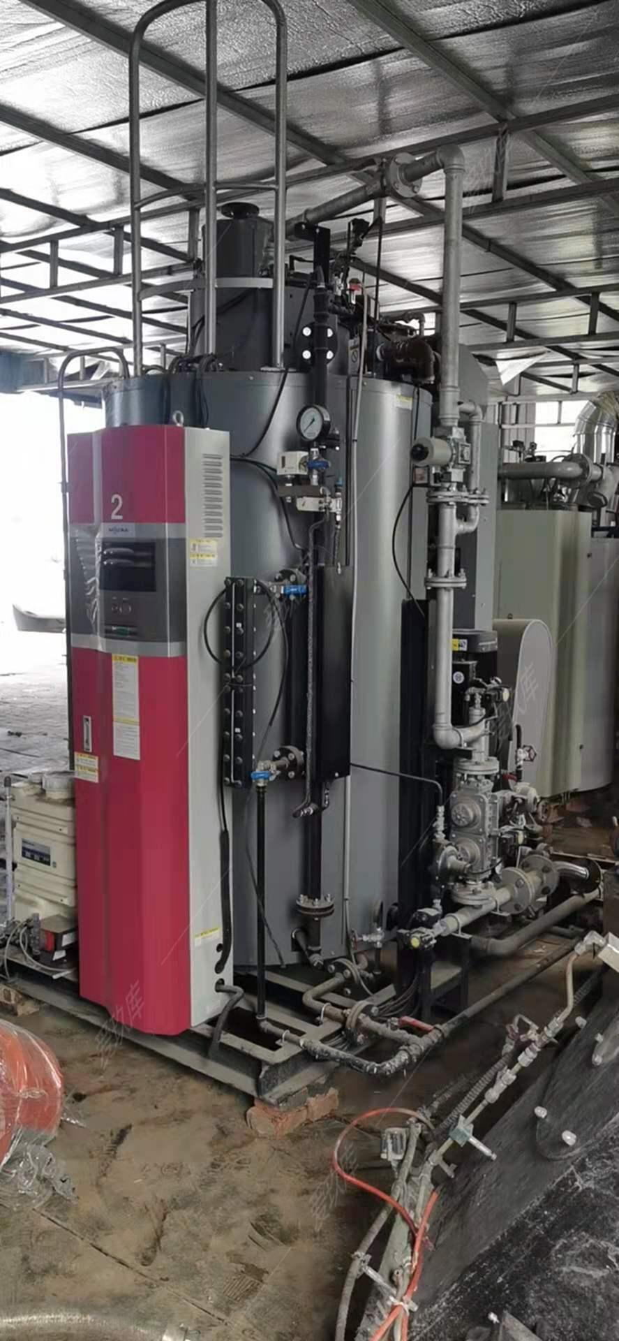出售1.7噸蘇州三浦燃氣蒸汽鍋爐一臺