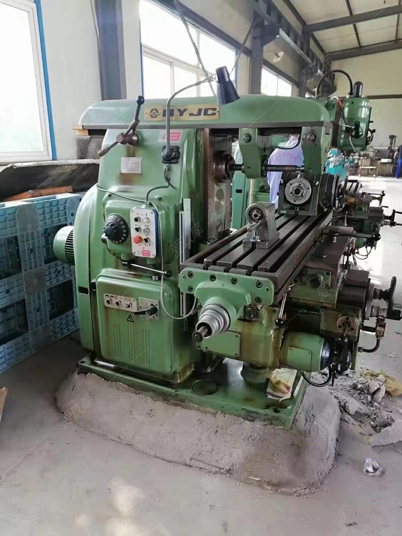 出售北京第一機床廠6132萬能升降臺銑床