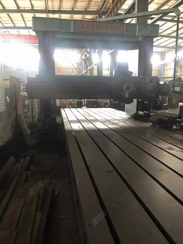 出售二手青島永立達2.2x8米龍門刨銑床二手青島龍門刨