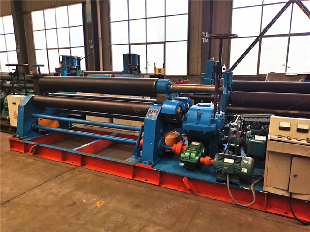 機械二手卷板機20x2500三輥對稱式卷板機全自動操作卷板機