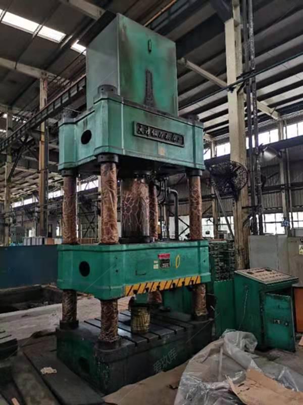 出售天津500噸四柱液壓機同款兩臺