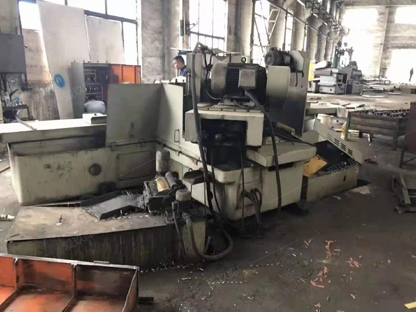 出售二手上海MQ1650Ax1.5米端面外圓磨二手外圓磨