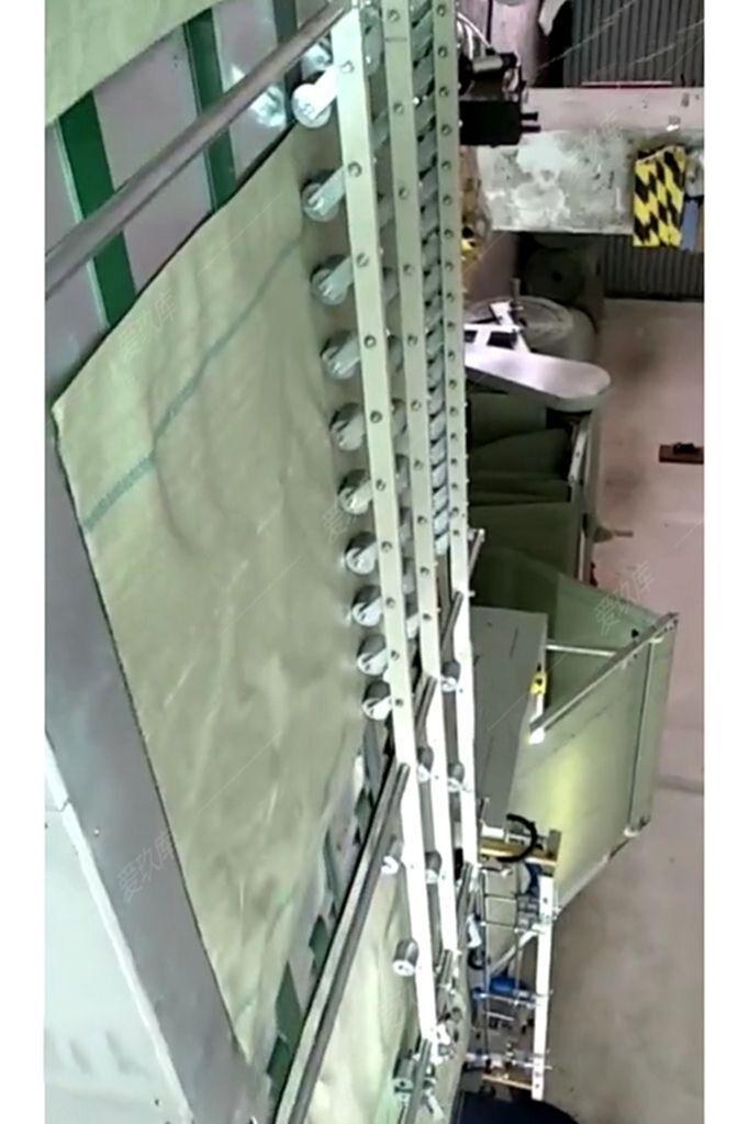 出售龍藝1600型全自動編織袋熱切縫一體機機