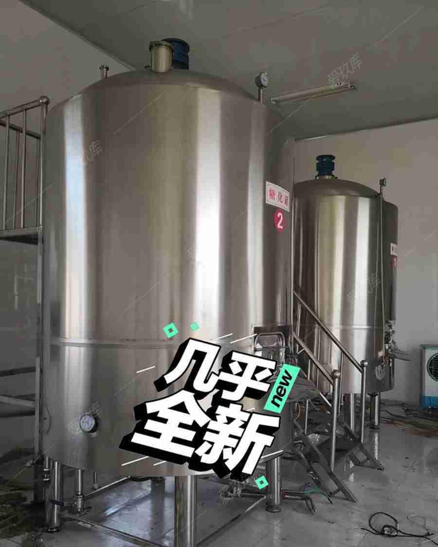 出售二手精釀設備,2噸發酵罐8個,4噸糖化