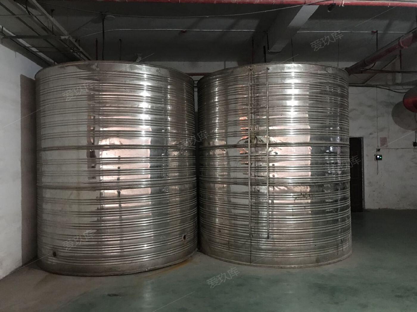 二手304不銹鋼儲水罐