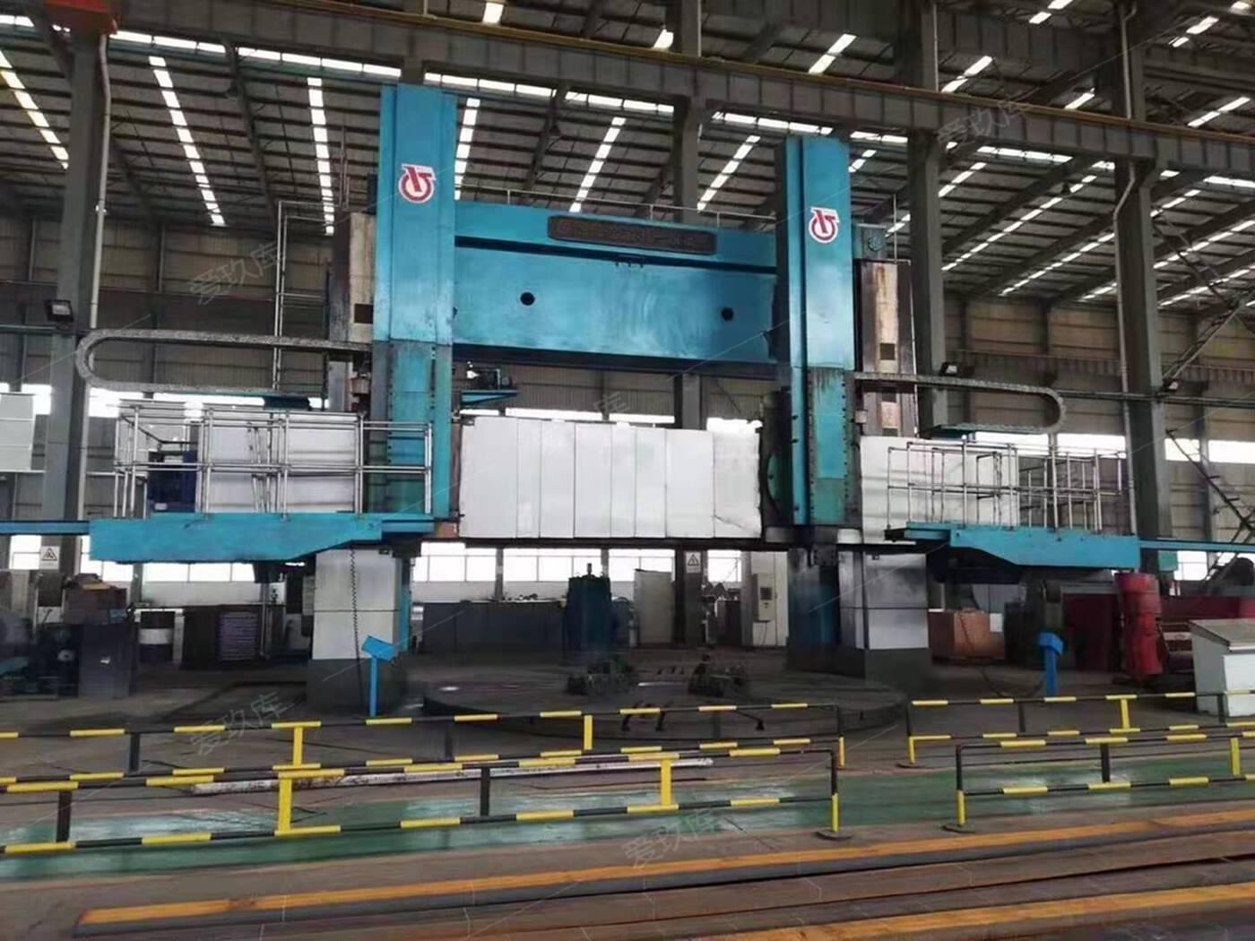 廠家處理二手齊重5263雙柱原廠數控立車二手數控立車二手齊重車床