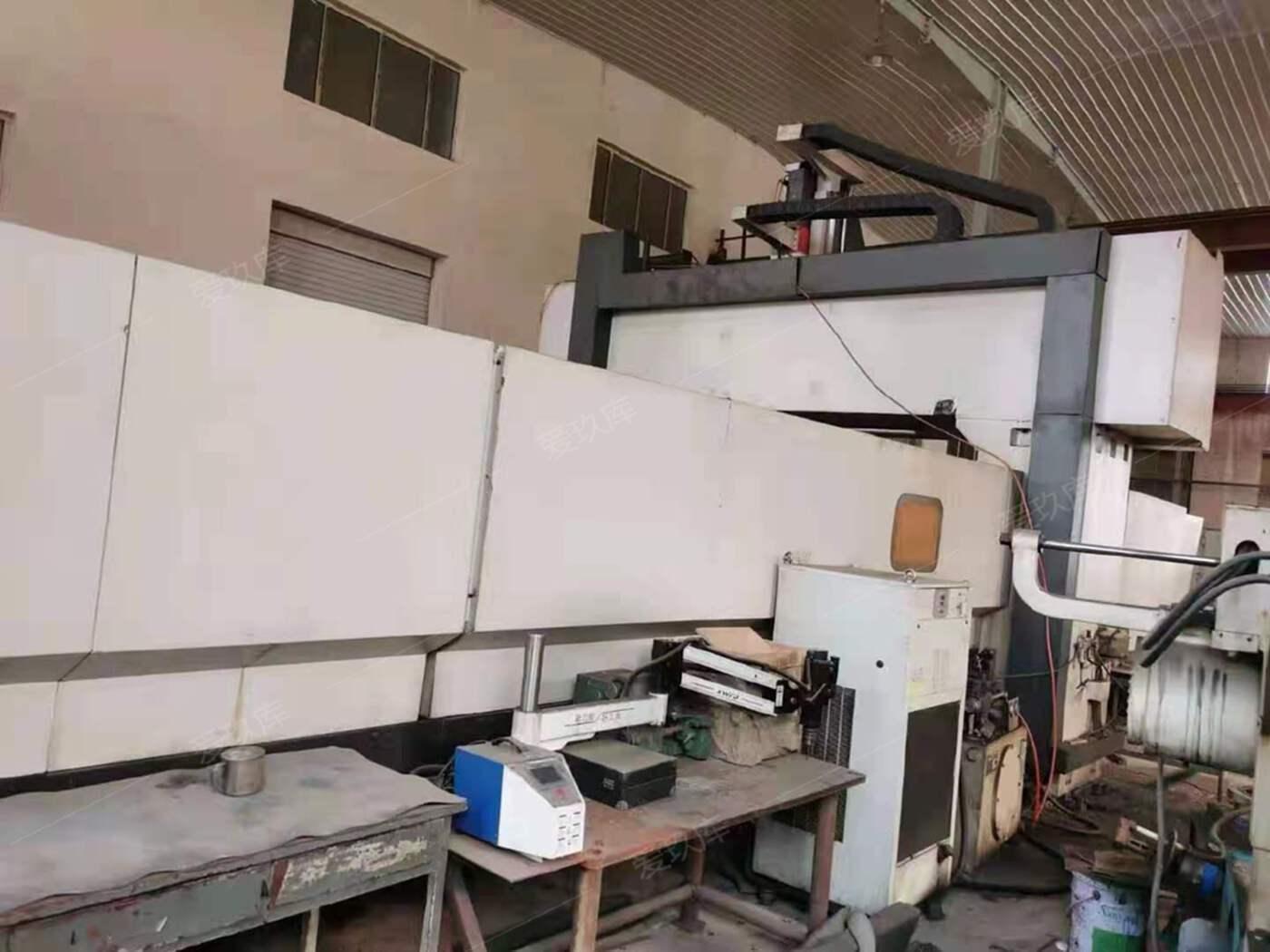 .出售二手沈陽中捷2.5x6米龍門加工中心二手中捷龍門